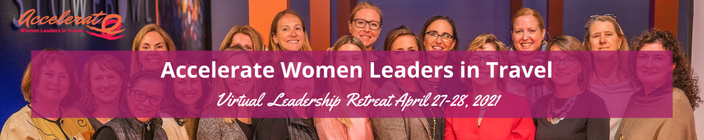 Accelerate women in leadership logo