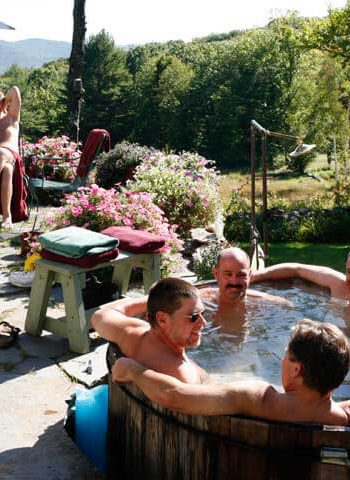 Hot Tub at Frog Meadow