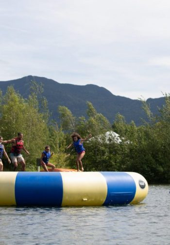 Water trampoline, Family