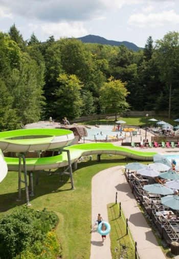Giant Slide, Green, Pools