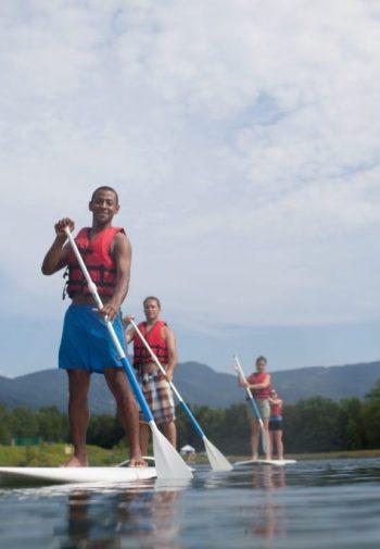 Paddleboarding, Bootleggers Basin